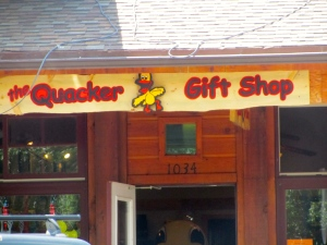Quacker Gift Shop Grand Lake, Colorado