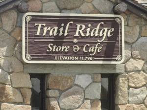 Trail Ridge Store in Rocky Mountain National Park