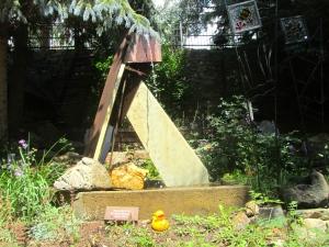 Love this fountain in sculpture garden