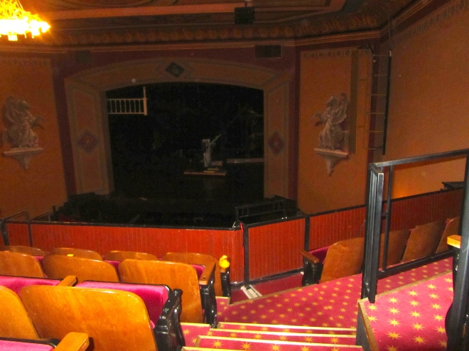 Inside Central City Opera House