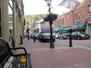 Central City main street