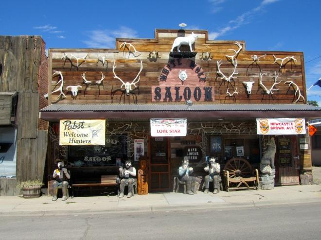 White Wolf Saloon in Douglas, Wyoming