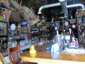 Lots of stuff inside White Wolf Saloon