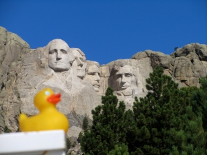 Mount Rushmore honors our democracy