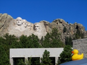 Zeb at Mount Rushmore