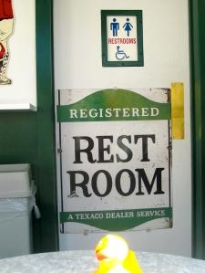Registered Restroom???