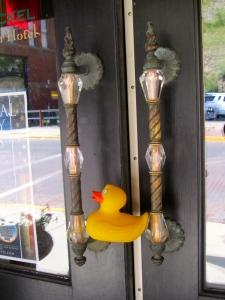 Classy door handles to Wood Nickel