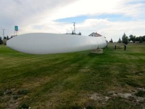 I am on the turbine arm