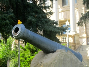 This cannon is big