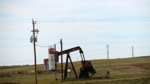 Working oil well