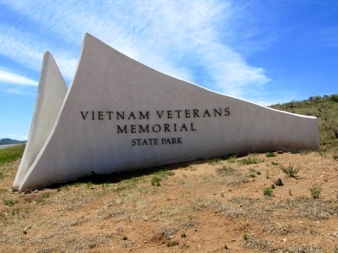 Vietnam Veterans Memorial in Angel Fire, NM