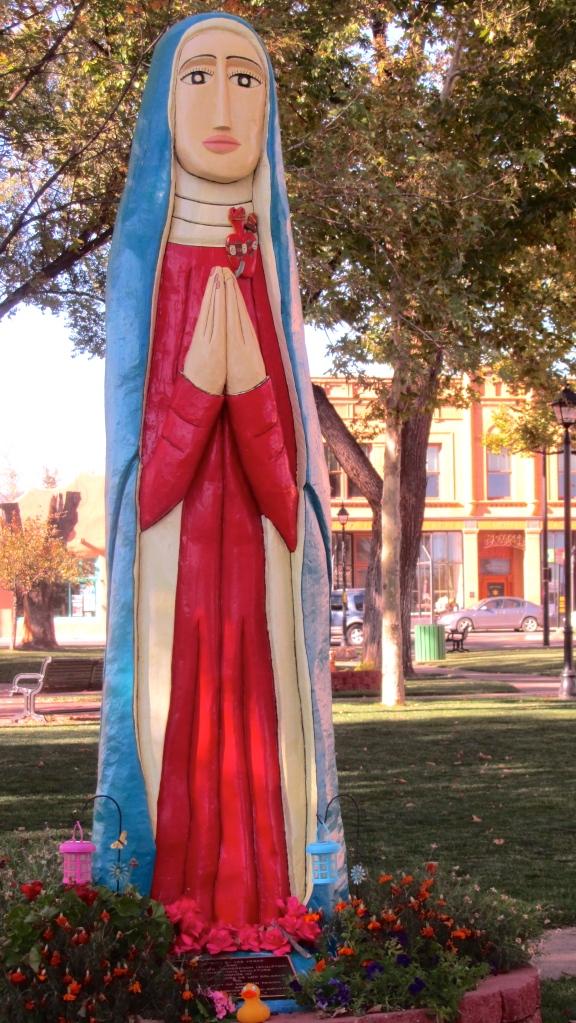 Sculpture in Las Vegas, NM