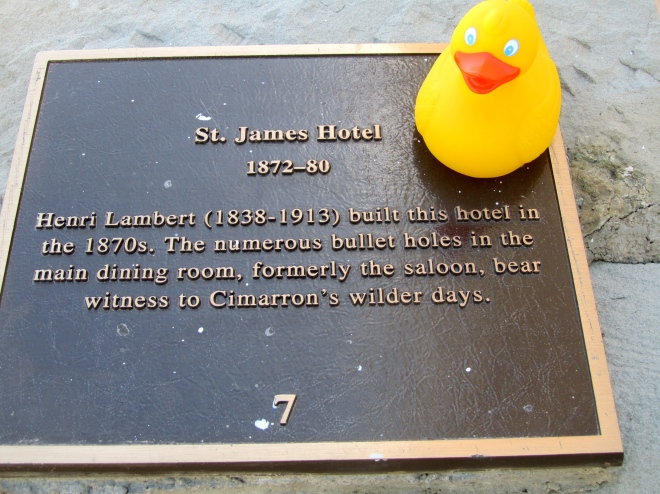 St. James Hotel is old and famous