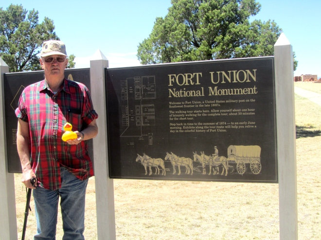 Fort Union, NM with my Alaska uncle