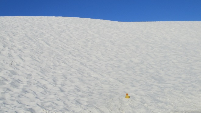 So much white sand
