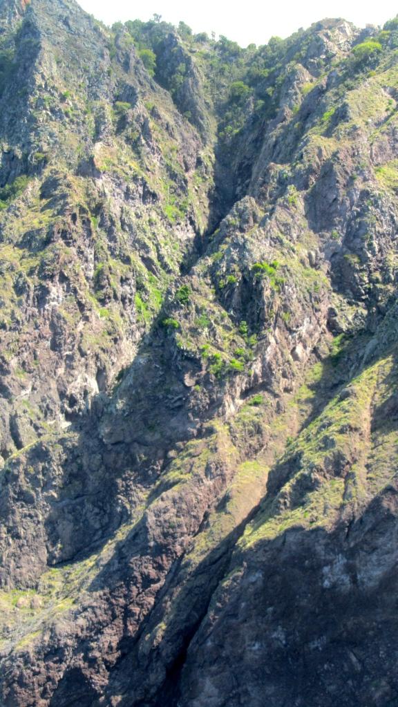 Saba is a rocky island!