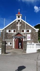 Sacred Heart Church, The Bottom in Saba