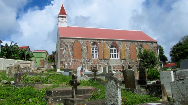 Church with cemetery