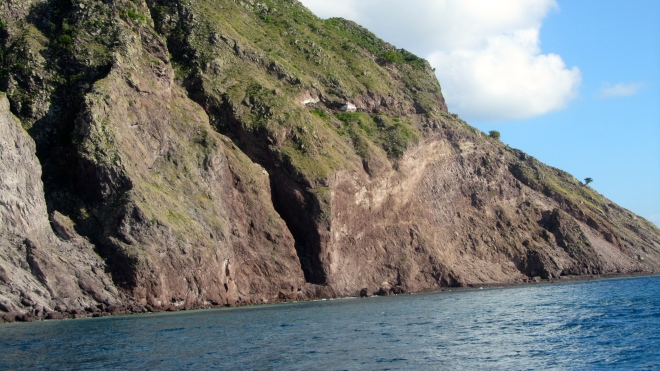 Leaving Saba