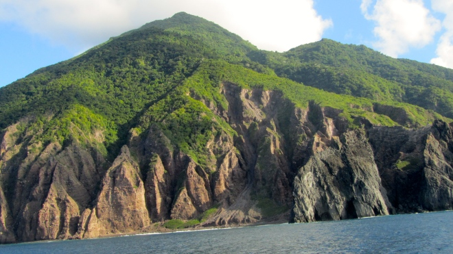 Saba from the boat