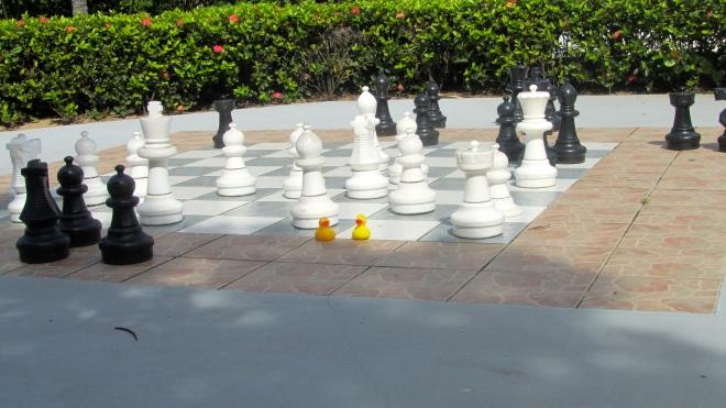 Huge chess game