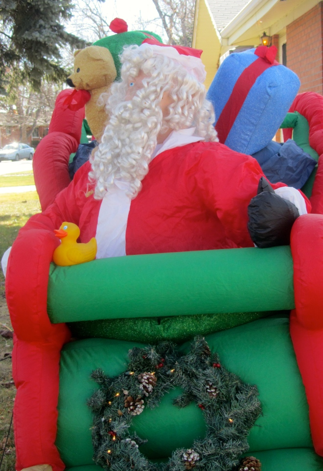 This is Santa Claus