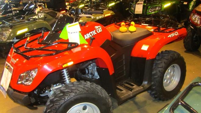 An ATV would be so much fun