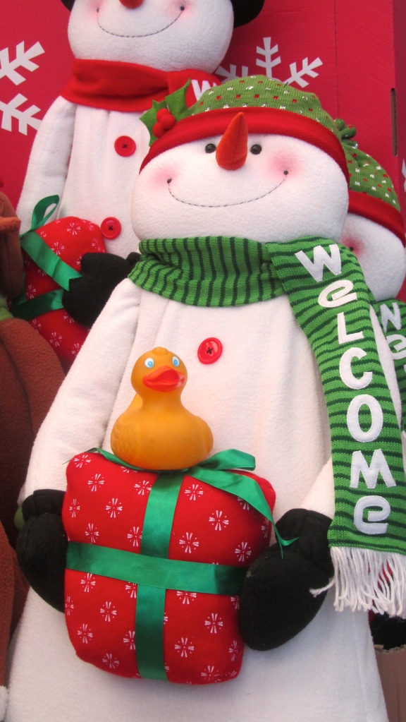Welcoming Snowman