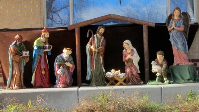 Baby Jesus was born