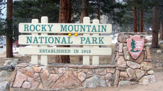We love Rocky Mountain National Park