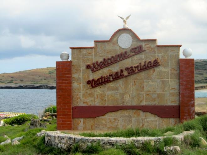 Natural Bridge of Aruba area