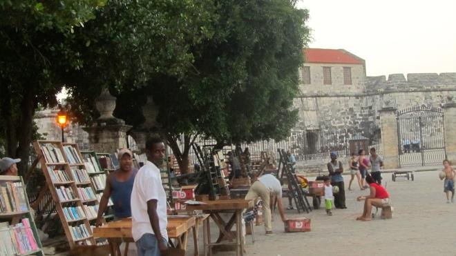 Used Booksellers Market in Plaza de Armas, Havana