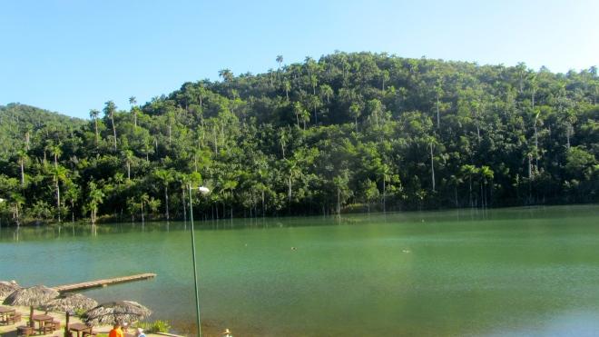Lake at Las Terrazas Cuba