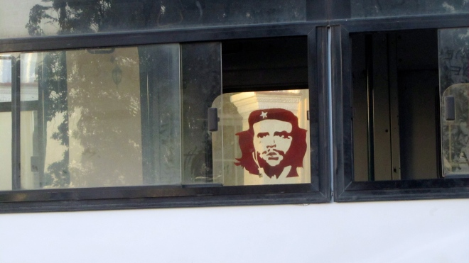 Che is everywhere in Cuba