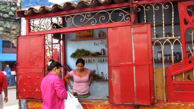 Santeria store at Callejon de Hamel