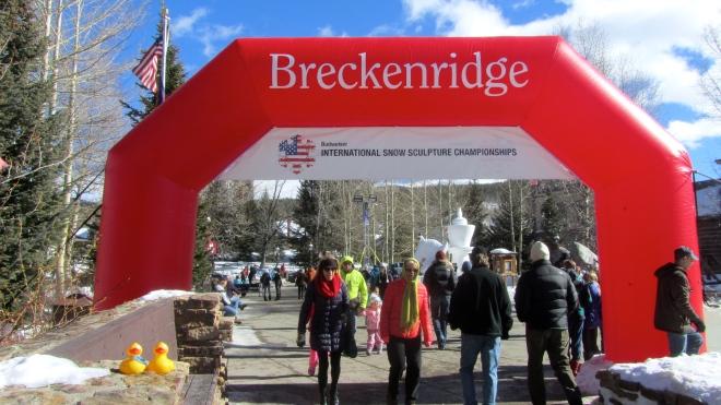 In Breckenridge Colorado