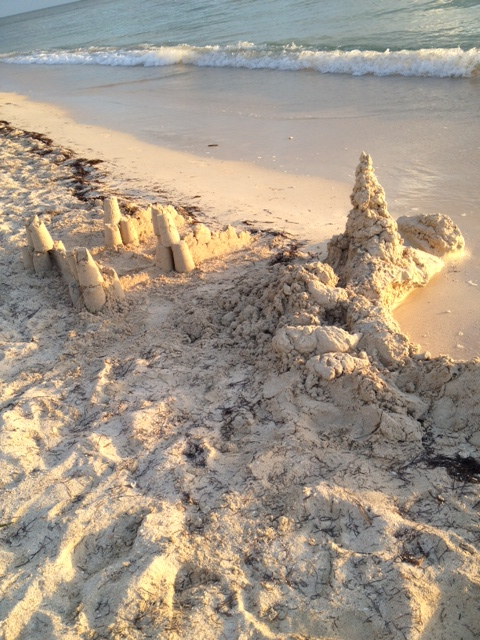 Sandcastle on Playa Ancon