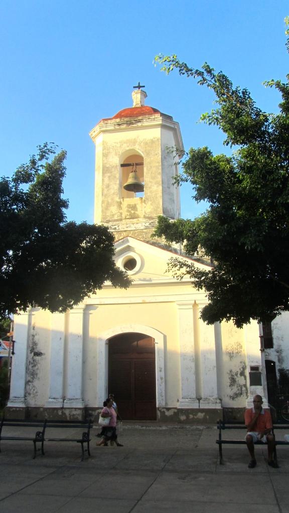 Church in Trinidad Cuba