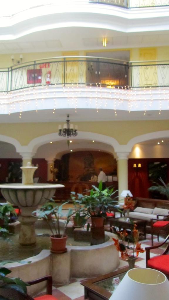 Lobby of Iberostar Trinidad hotel