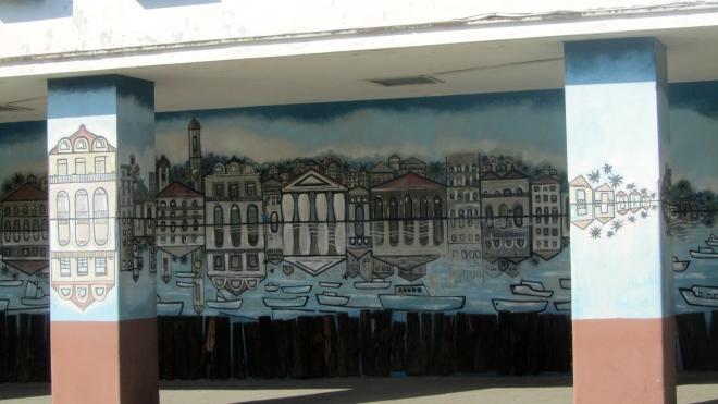 Mural in Cienfuegos, Cuba
