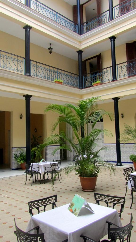 Lovely restaurant in Hotel la Union.  Cienfuegos, Cuba