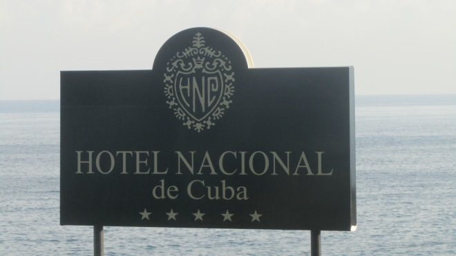 Our hotel.  The Hotel Nacional de Cuba