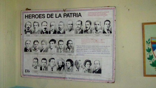 Cuban national heroes