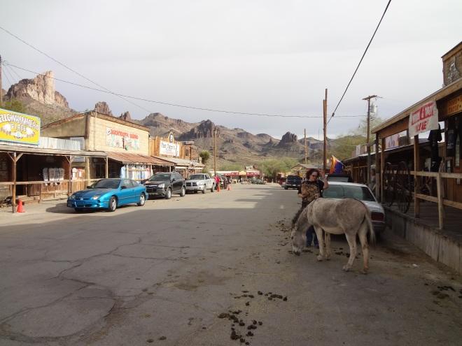Street in Oatman
