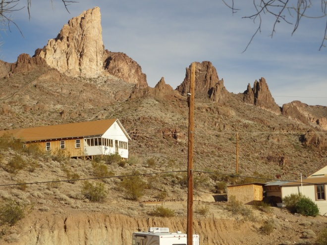 Black Mountains of Oatman, Arizona