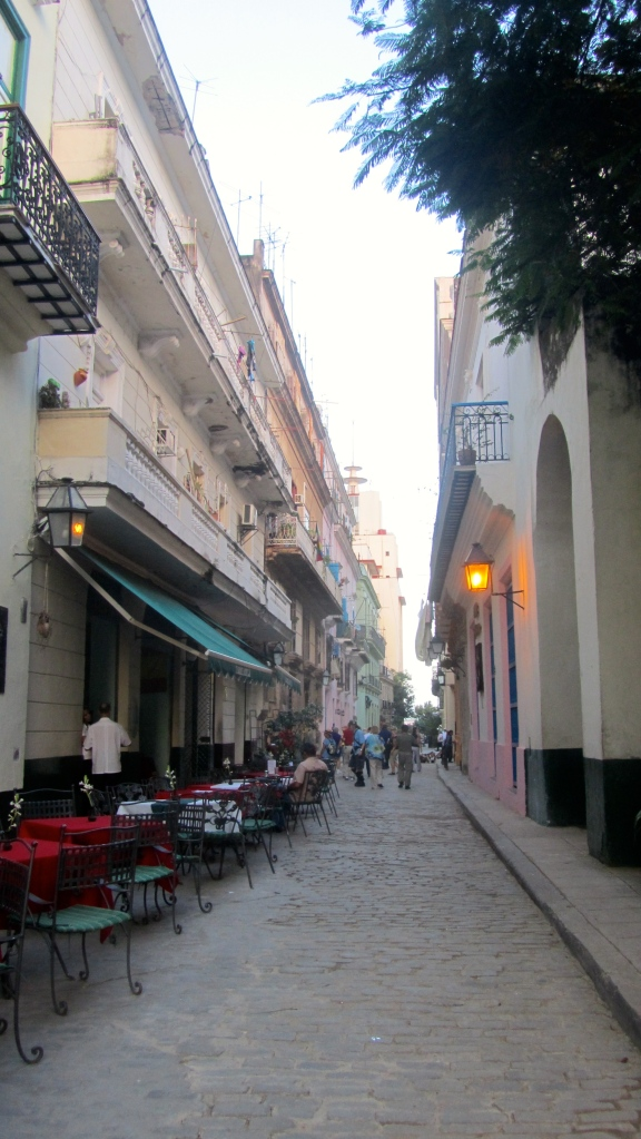 Narrow streets with wonderful old buildings