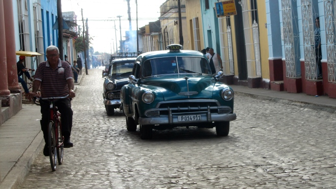 Classic cars as taxis
