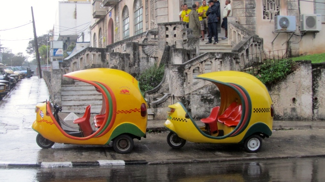 New smaller taxis