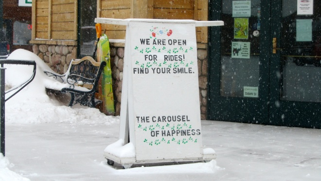 Carousel of Happiness serves smiles