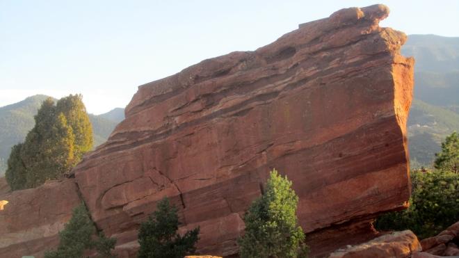 Massive rock